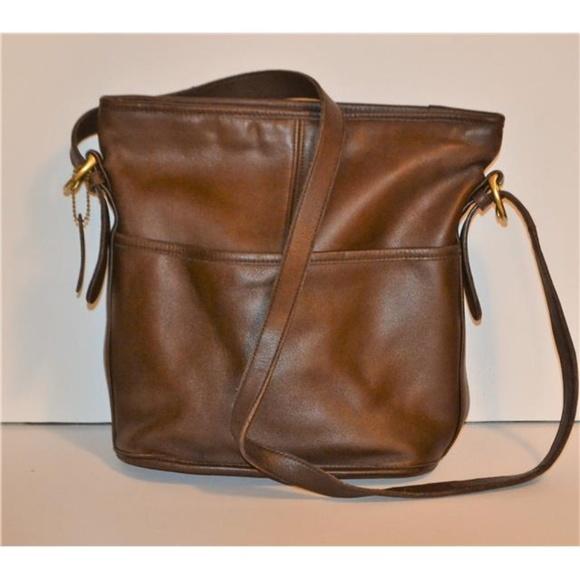 06b8a4eddd Coach Handbags - VINTAGE COACH LEGACY SLIM DUFFLE BUCKET BAG